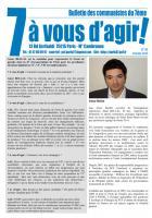 7 à vous d'agir, février 2012