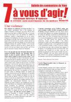 7 à vous d'agir, décembre 2013