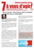 7 à vous d'agir, juin  2013