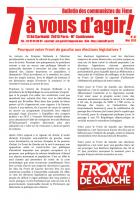 7 à vous d'agir, mai 2012